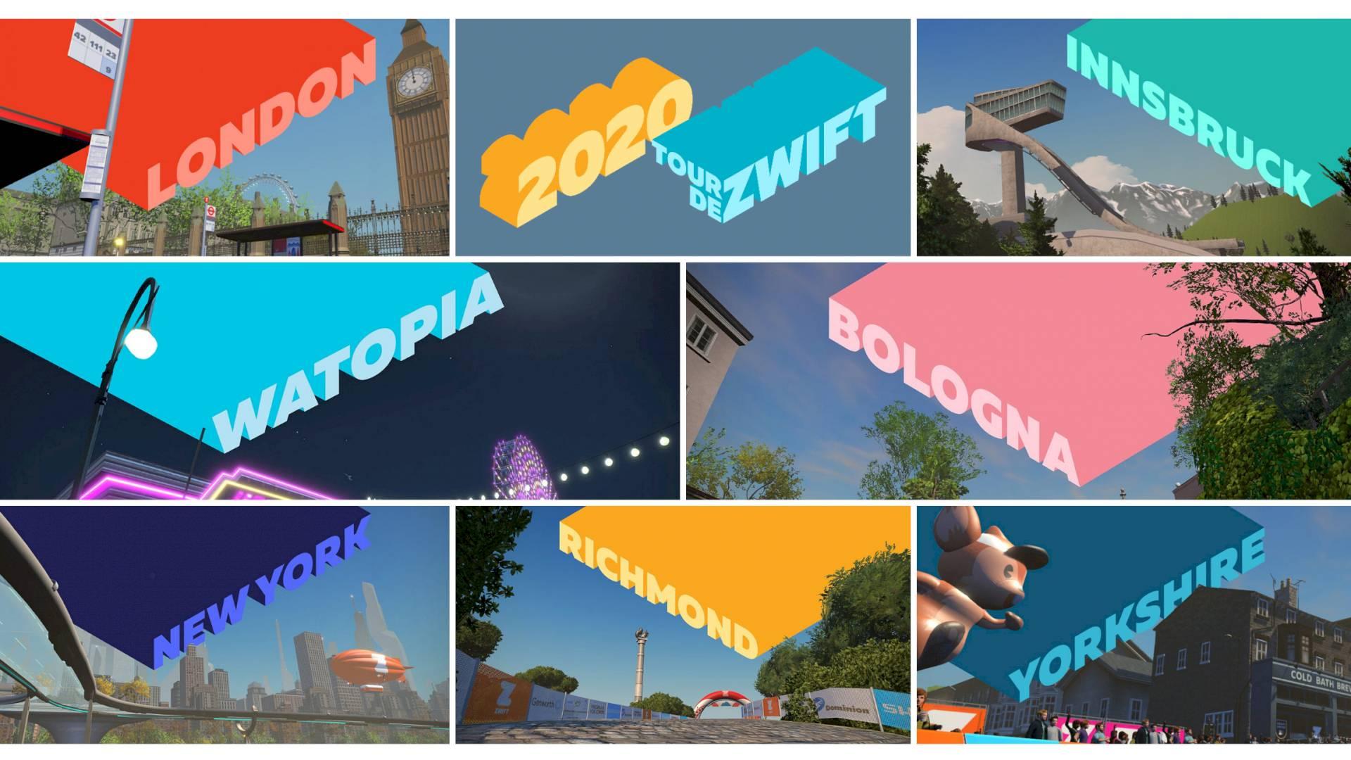 Aanrader: Tour de Zwift 2020! - UPDATE